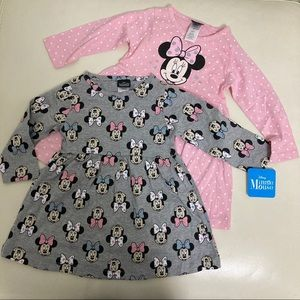 Disney Minnie Mouse Cute Dress Set